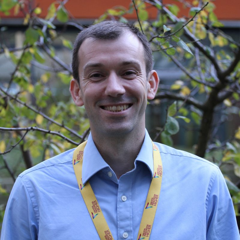 Chris Delaney, Hub Manager Manchester