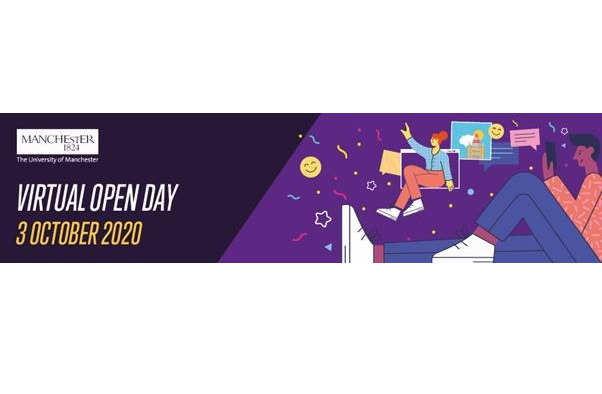 University of Manchester Virtual Open Day 3rd October 2020