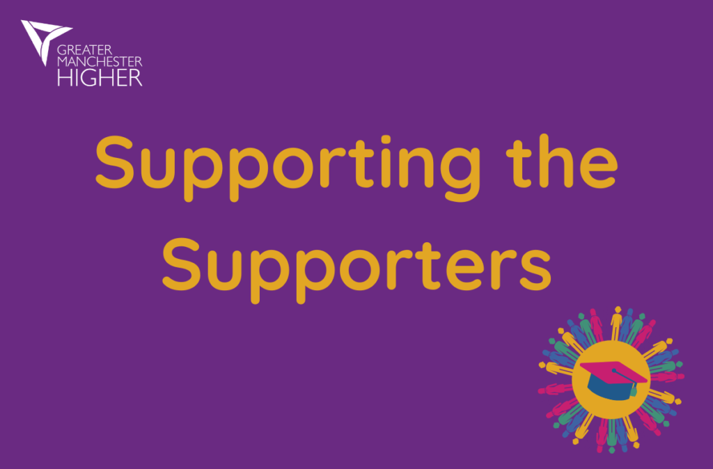 Supporting the supporters logo