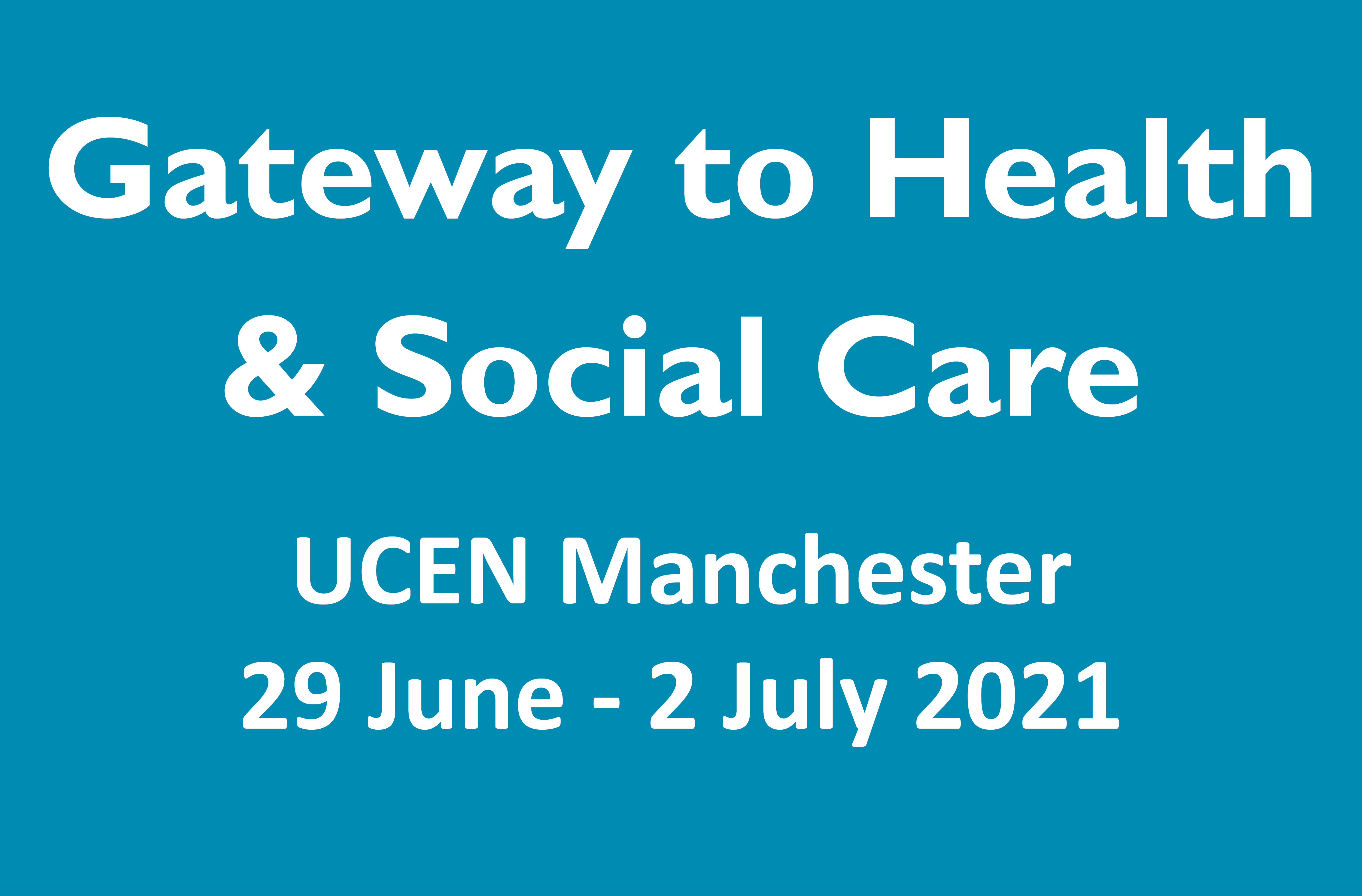 Gateway to health and social care event tile