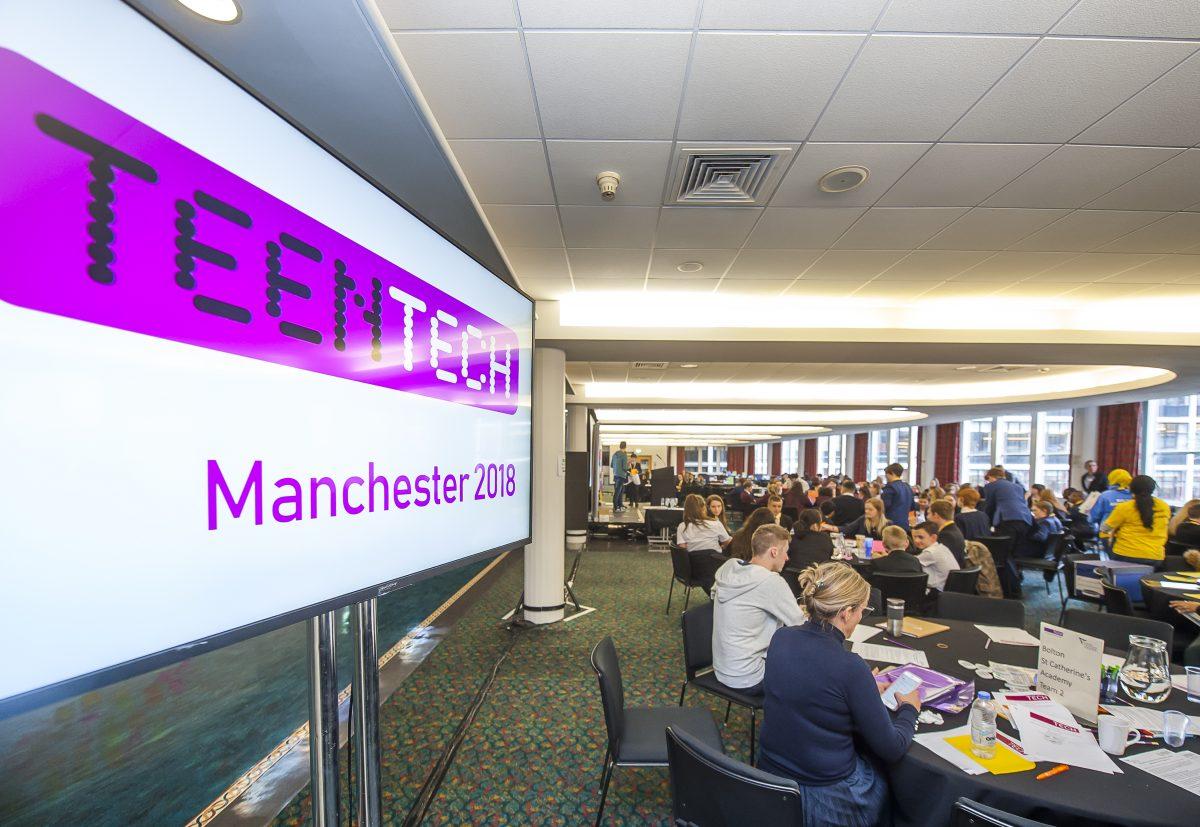 Teen Tech Manchester 2018