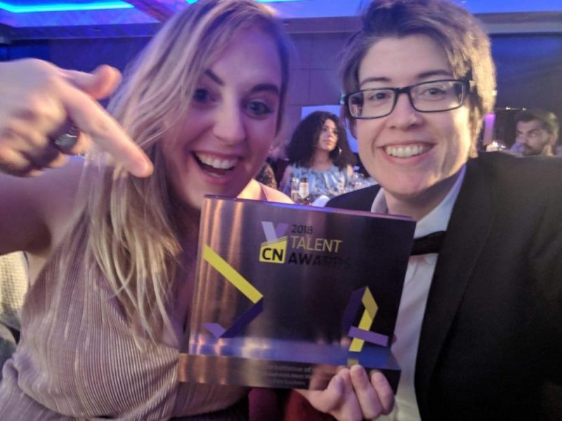 CN award Jamie